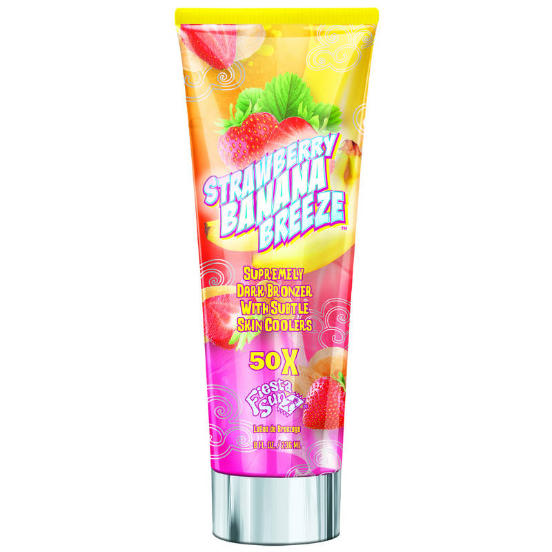Крем для солярия Fiesta Sun Strawberry Banana Breeze 236 мл